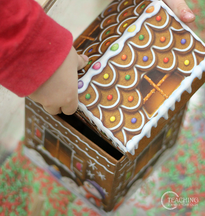 Christmas Gingerbread Sensory Play for Preschoolers