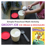 Preschool Math Activity with Groovy Joe