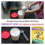 Preschool Math Activity with Groovy Joe