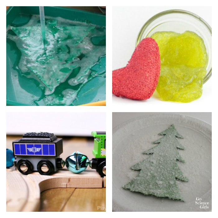 Looking for Christmas science activities that engage preschoolers? Here are 16 fun ideas to try during the month of December!