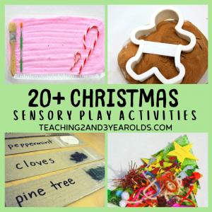 22 Fun Christmas Sensory Play Activities