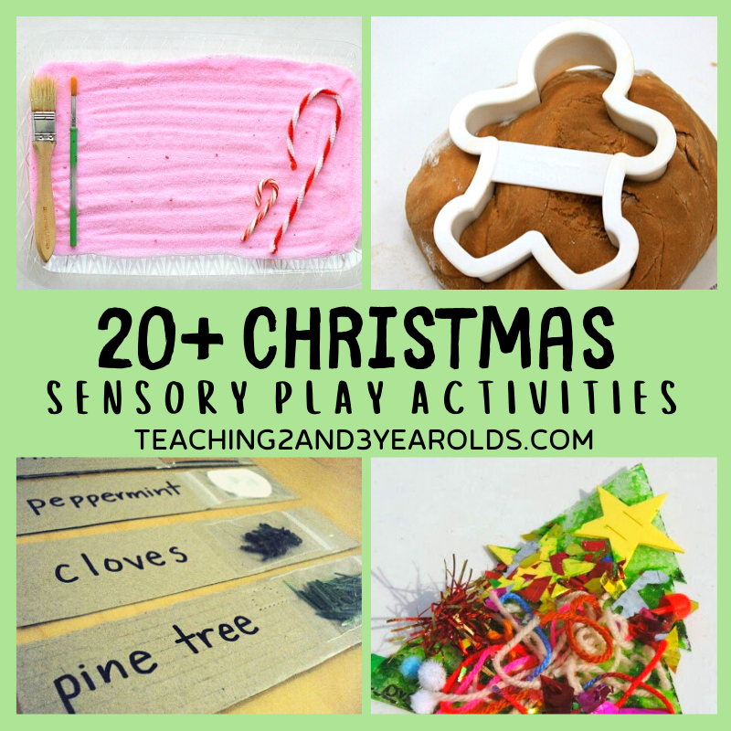 22 Fun Christmas Sensory Play Activities