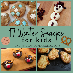 17 Tasty Winter Snacks for Kids