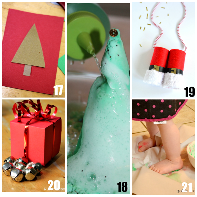 Christmas Sensory Play Activities