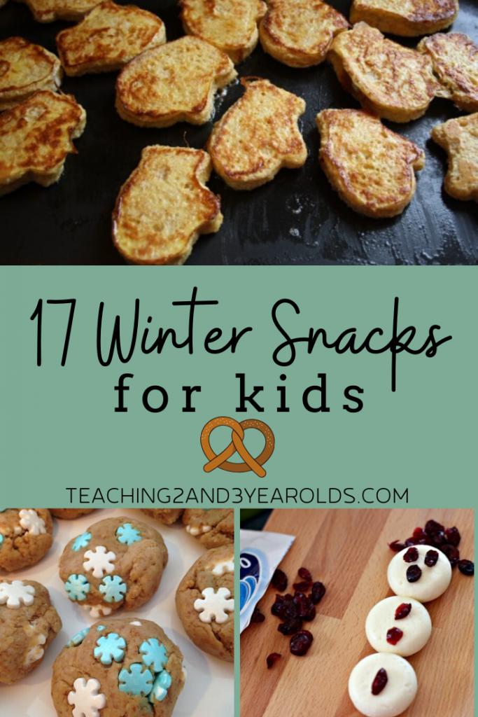 17 Tasty Winter Snacks for Kids