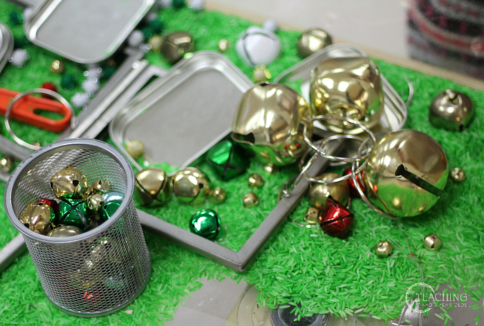 Jingle Bell Magnetic Sensory Bin