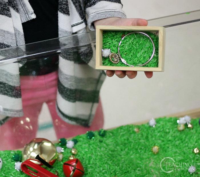 Jingle Bell Magnetic Sensory Bin