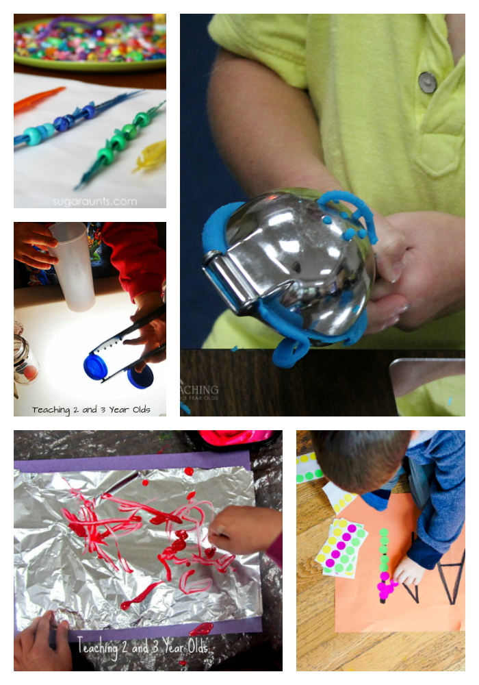 Fine Motor Activities for Home