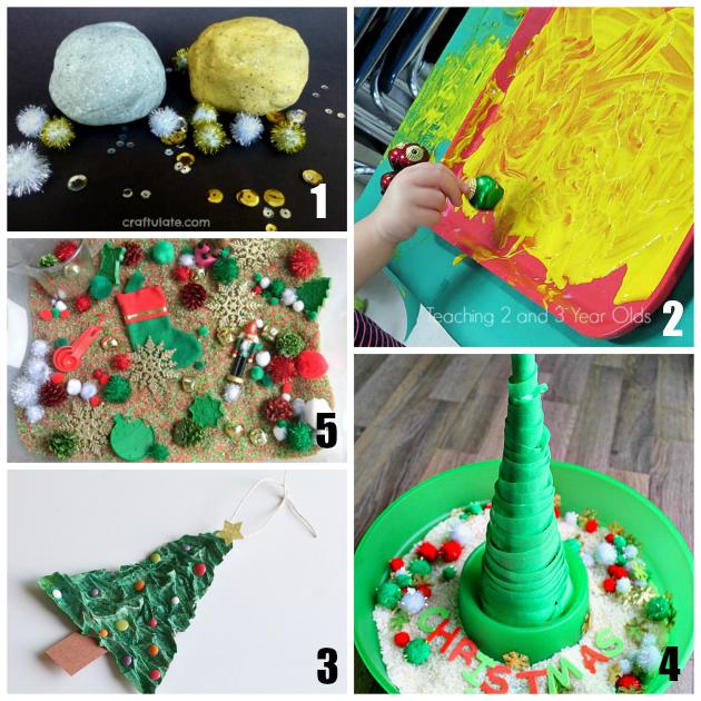 21 Fun Christmas Sensory Play Activities
