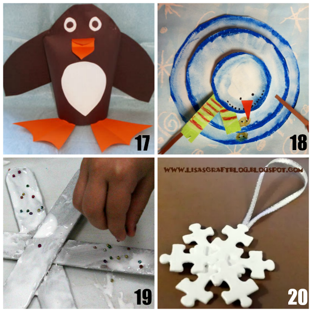 Winter Crafts for Preschoolers - Teaching 2 and 3 Year Olds