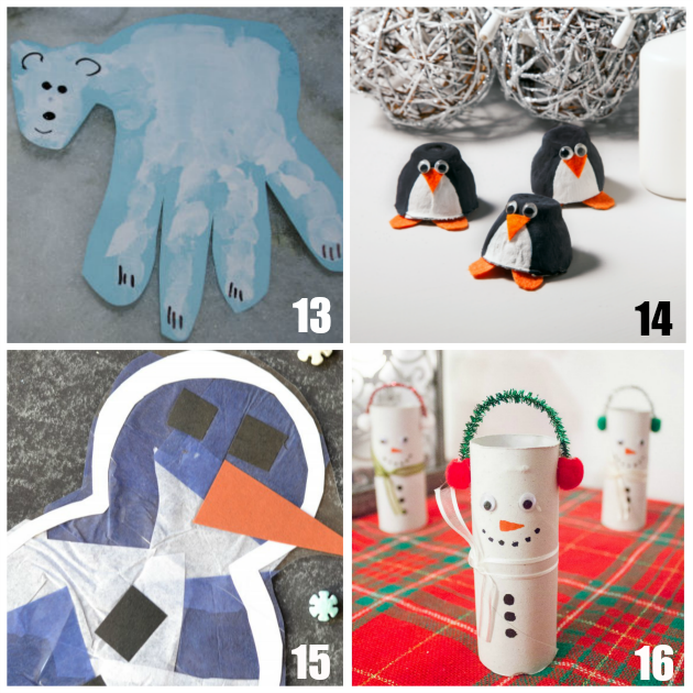 20 Fun Preschool Winter Crafts