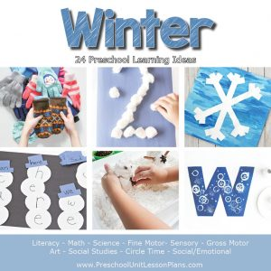 preschool winter curriculum