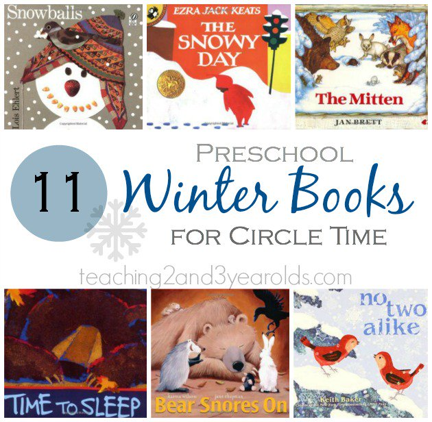 preschool winter books
