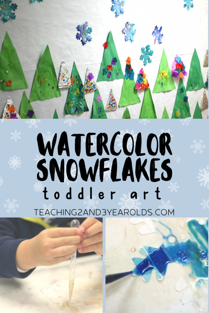 How to Make Tissue Paper Snowflakes with Preschoolers