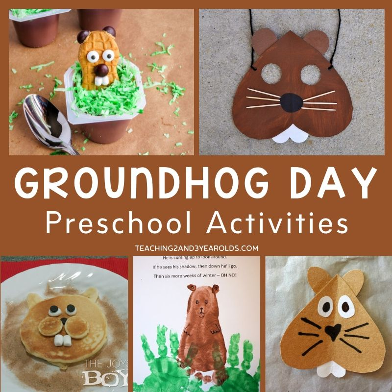 15+ Preschool Groundhog Day Activities