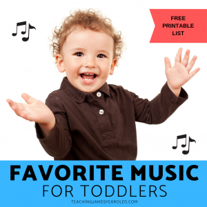 30+ Favorite Toddler Songs