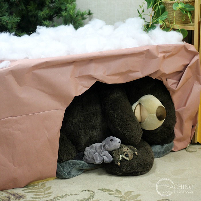 Winter Dramatic Play with Bear's Den