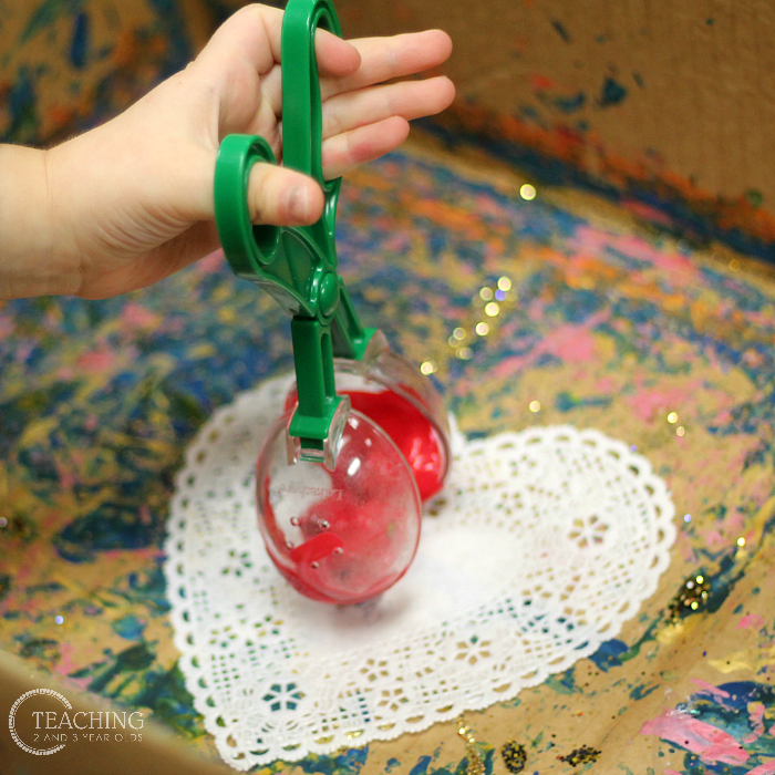 Marble Valentine Heart Activity