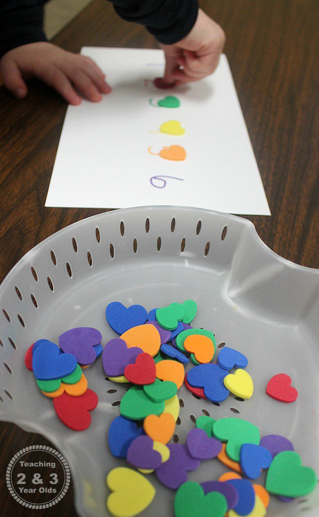preschool valentines activity