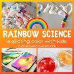 15 Amazing Rainbow Science Activities