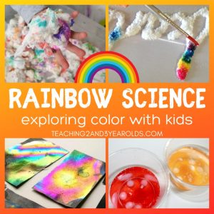 15 Amazing Rainbow Science Activities