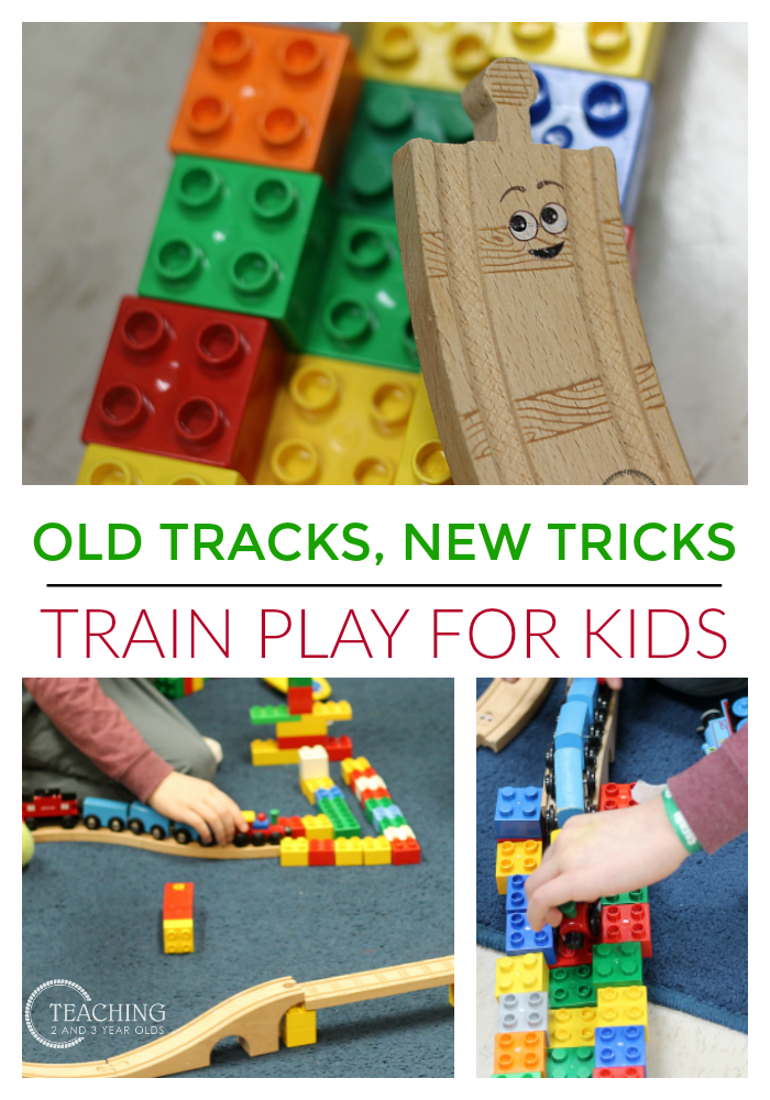 Train Play with Old Tracks, New Tricks