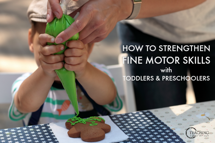 How to Put Together Fine Motor Strengthening Activities