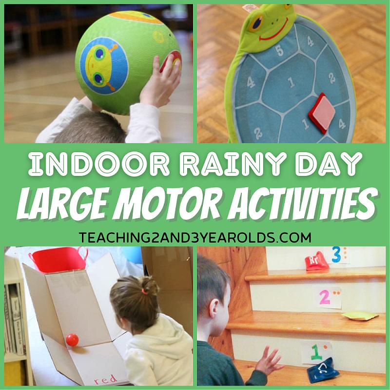 preschool indoor activities