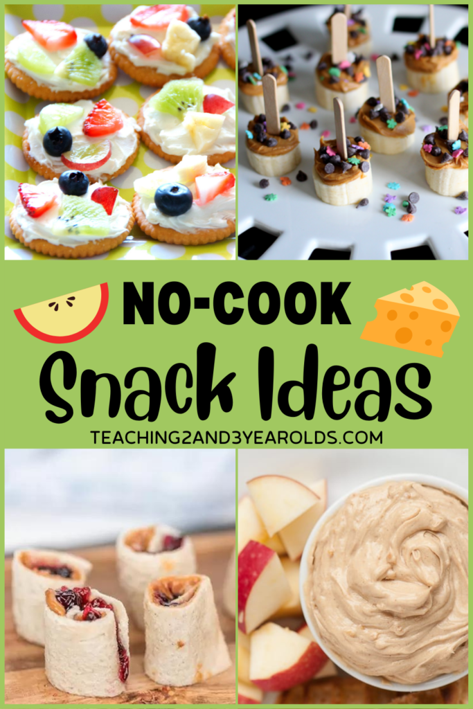 No-Cook Snack Ideas for Children