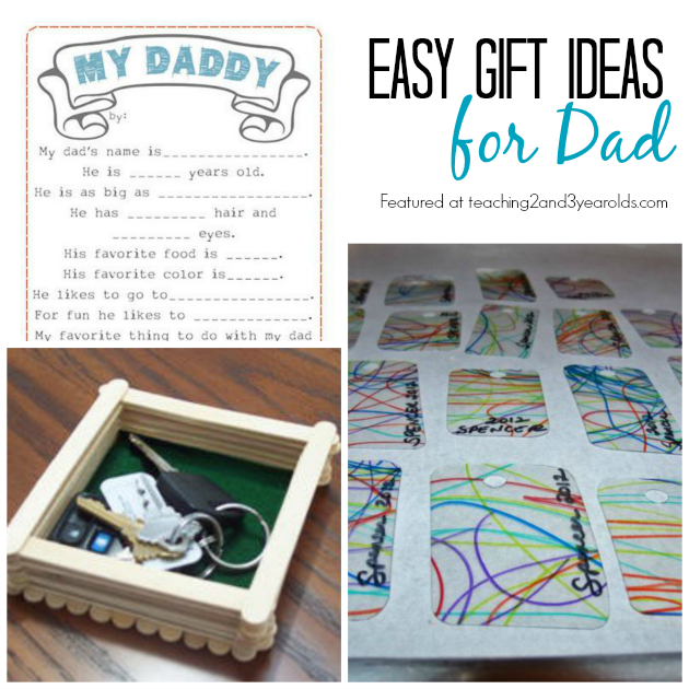 Homemade Fathers Day Gifts Made By Kids