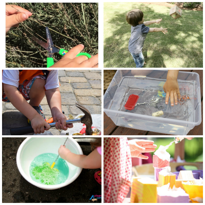 preschool outdoor learning