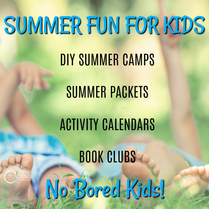 summer printables, packets, camps