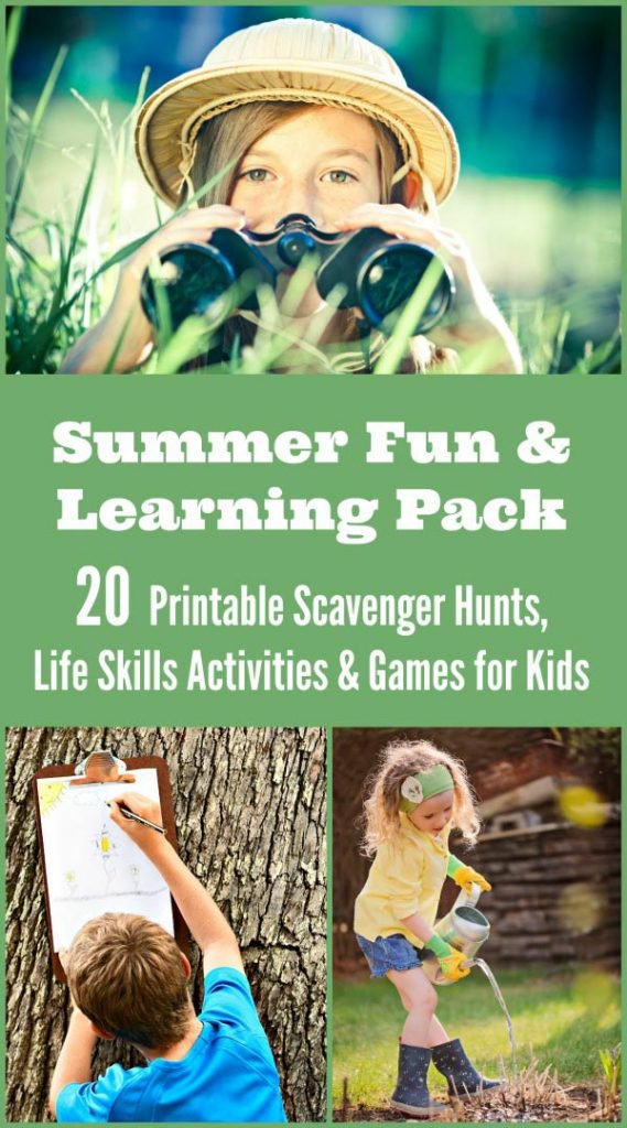 Summer Printable Fun And Learning Pack