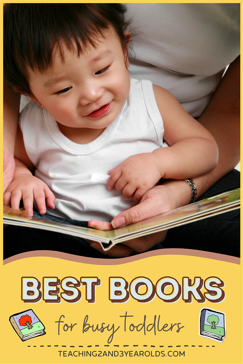 best books for busy toddlers