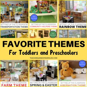 best toddler and preschool themes