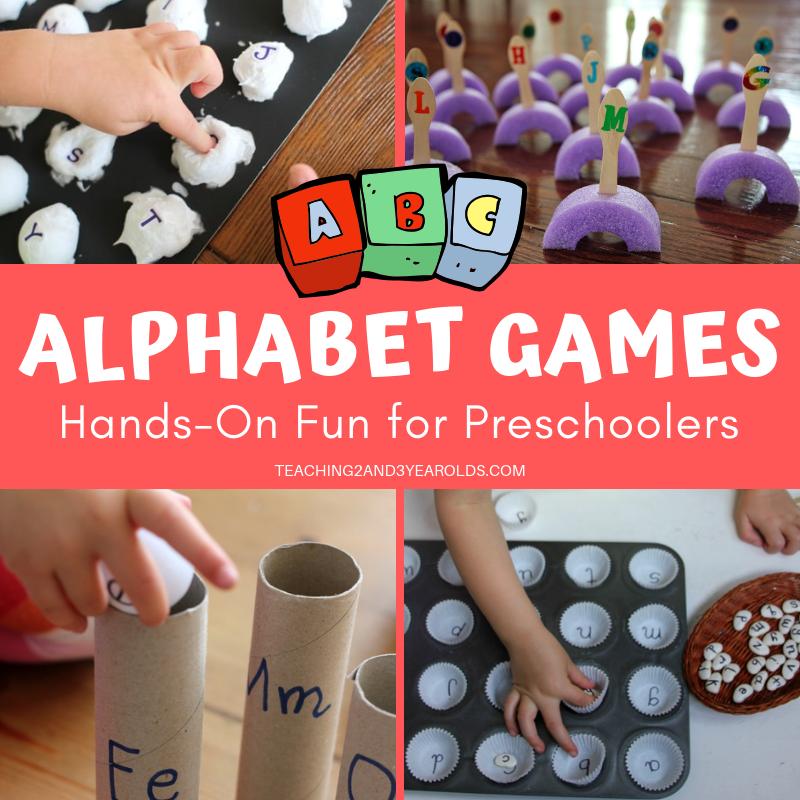18 Super Fun Preschool Alphabet Games