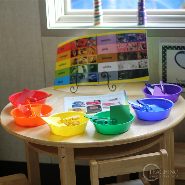 Classroom Center Ideas ~ How to set up your preschool science center
