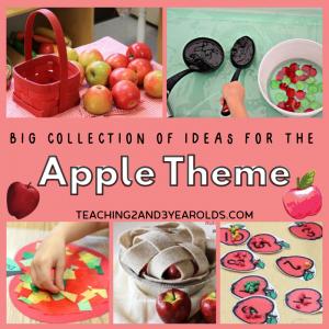 Huge Collection of Preschool Apple Theme Activities