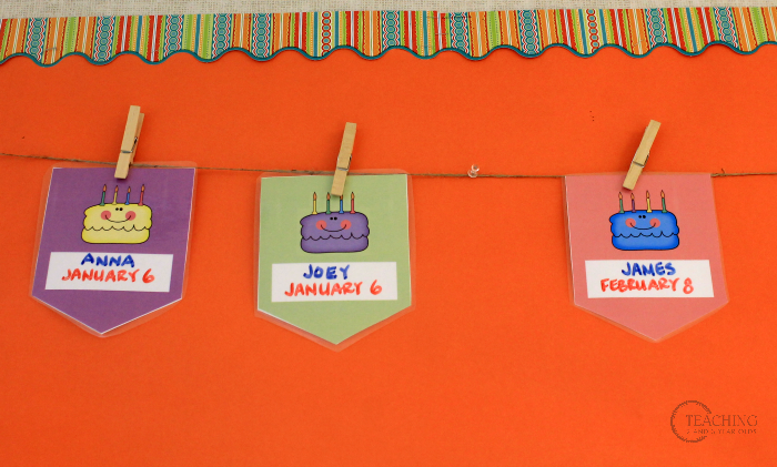 How to Celebrate Birthdays in the Toddler and Preschool Classrooms
