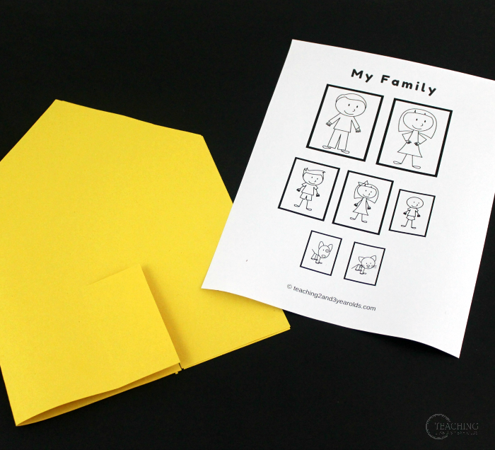 How to Create a Simple Family Book with Toddlers