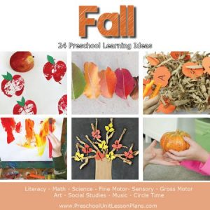 Fall Preschool Lesson Plans for Teachers and Homeschoolers