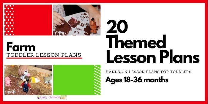 toddler lesson plans farm