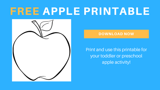 free apple printable