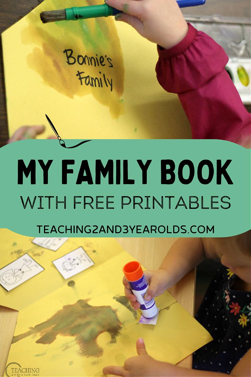 preschool family theme book