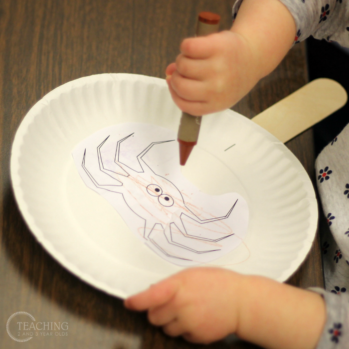 How to Make an Itsy Bitsy Spider Puppet with Toddlers