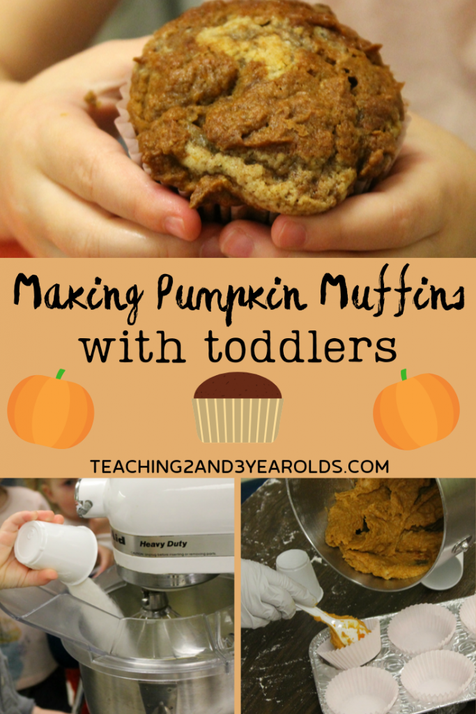 How to Make Delicious Pumpkin Muffins with Toddlers and Preschoolers