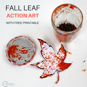 Fun Fall Painting Activity for Energetic Toddlers