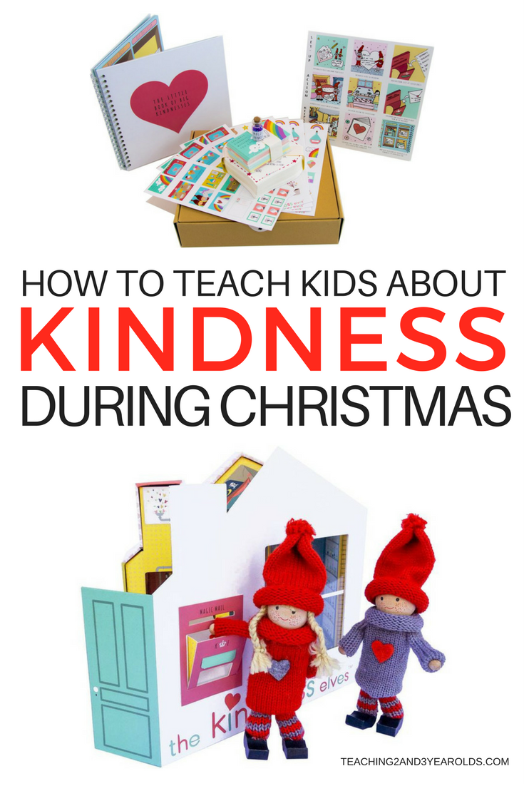 Learn how to teach kindness to children during the Christmas season with The Kindness Elves! Our world needs kindness now more than ever. Let's build a good foundation for our kids!