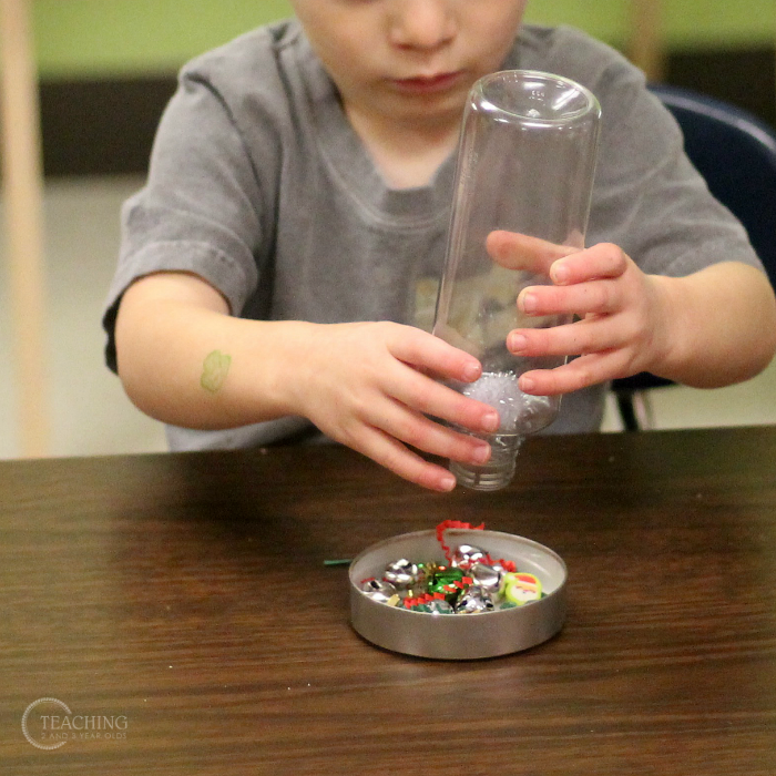 How to Make a Jingle Bell Instrument for a Toddler Music Activity