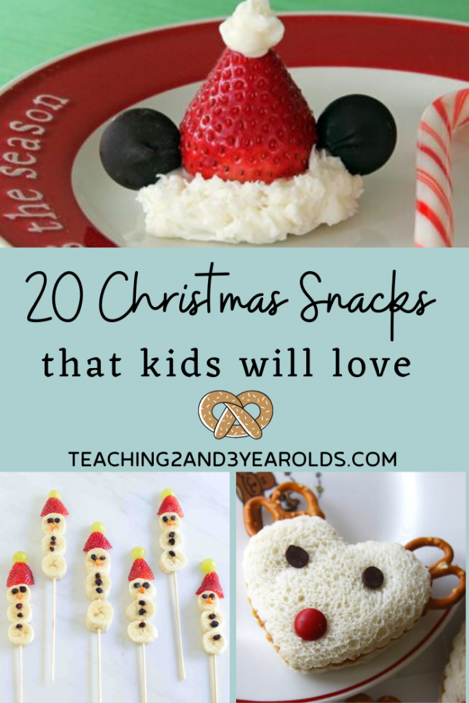 20 Fun Kids Christmas Snacks